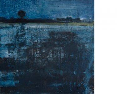 Nocturne, 40x40cm, Acryl auf Leinwand, 2012